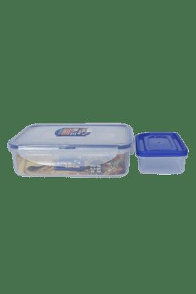 LOCK & LOCKClassics Rectangular Food Container With Sauce Container - 800ml