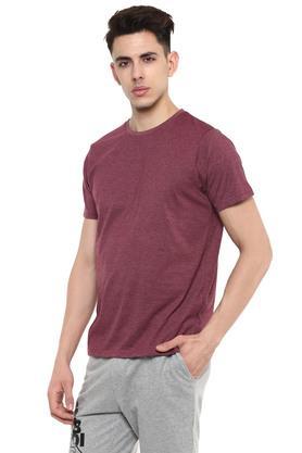 STOP - Blue MelangeT-Shirts & Polos - 10
