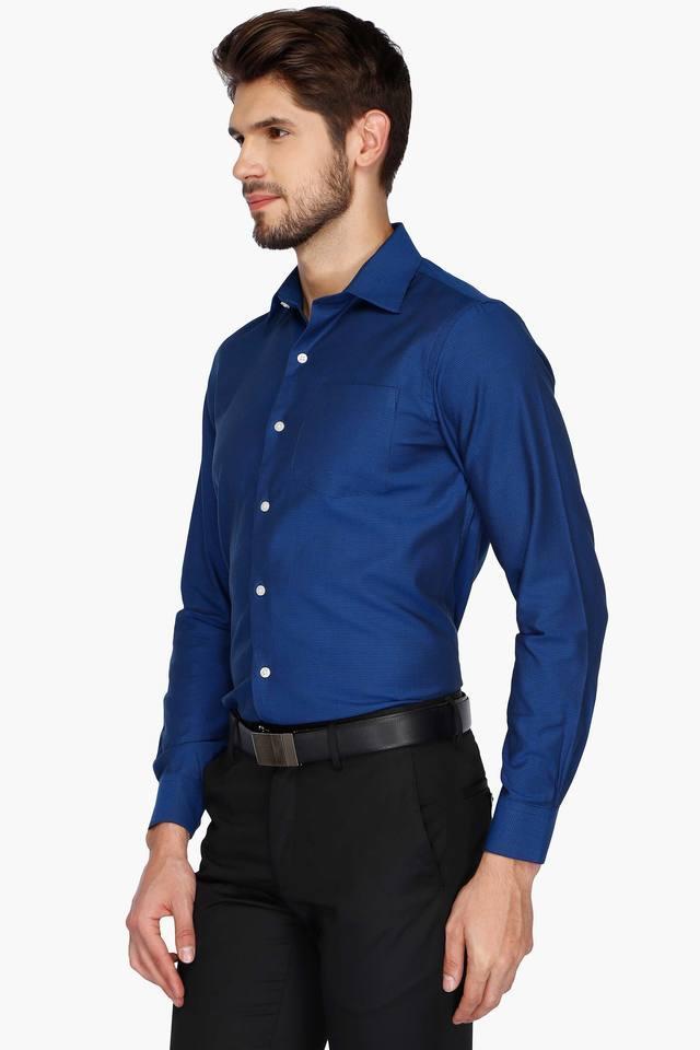 Mens Urban Slim Fit Slub Anti UV Shirt
