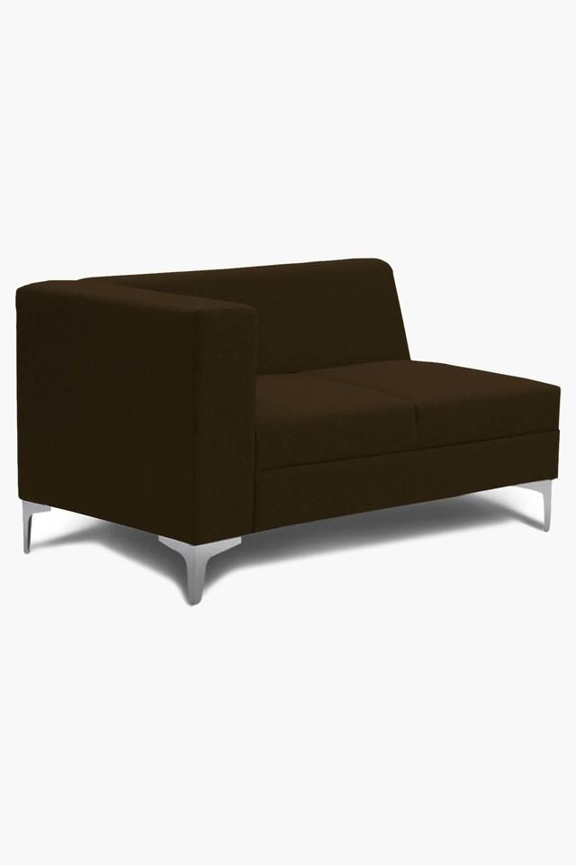 Dark Maroon Water Repellent Fabric Sofa (Lounger)