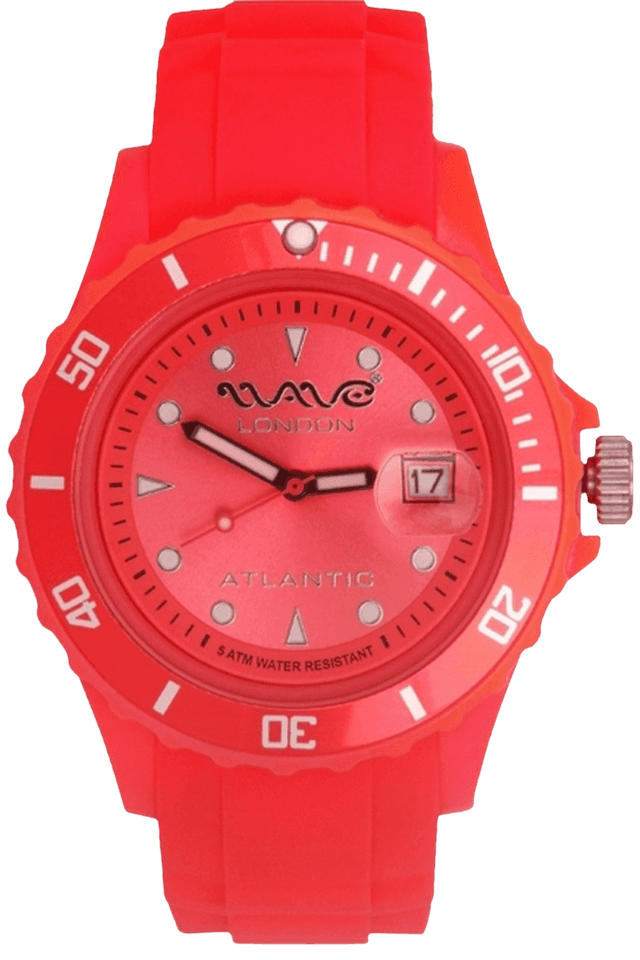 Atlantic Red Unisex Watch
