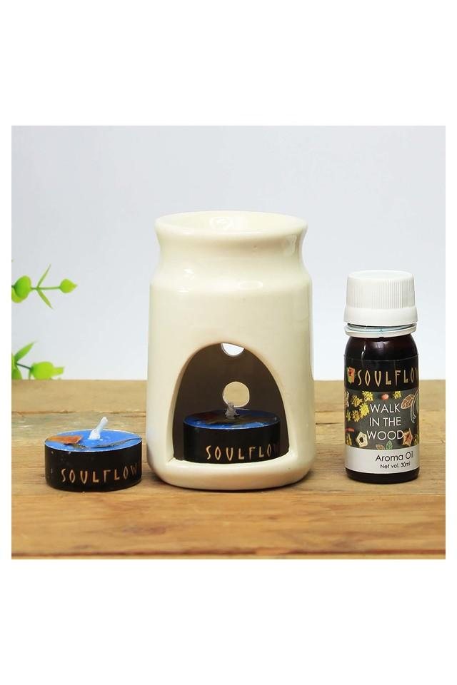 Walk In The Wood Candle Diffuser Set - 30 ml