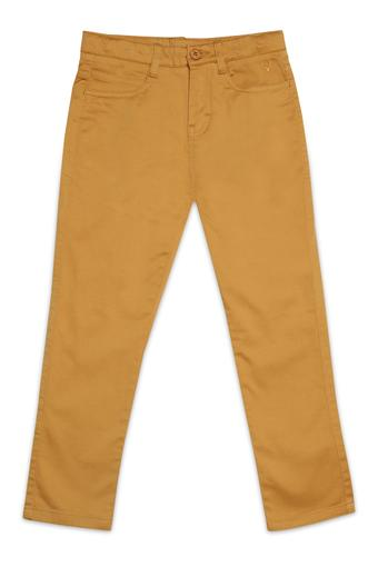 ALLEN SOLLY -  Yellow Bottomwear - Main