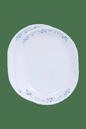 CORELLEProvincial Blue Oval Serving Platter (Set Of 2)