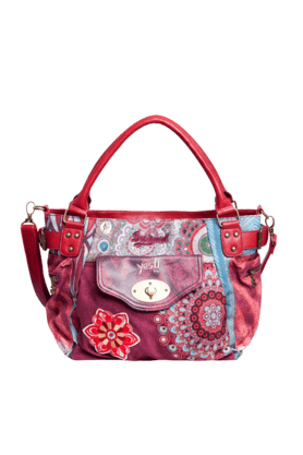 DESIGUAL Womens Printed Tote Bag