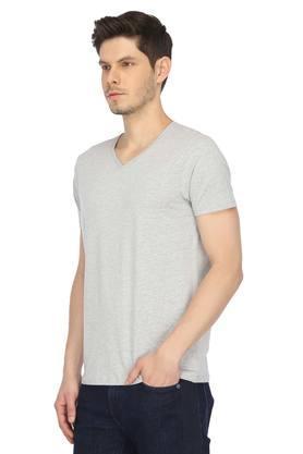 STOP - Grey MelangeT-Shirts & Polos - 2