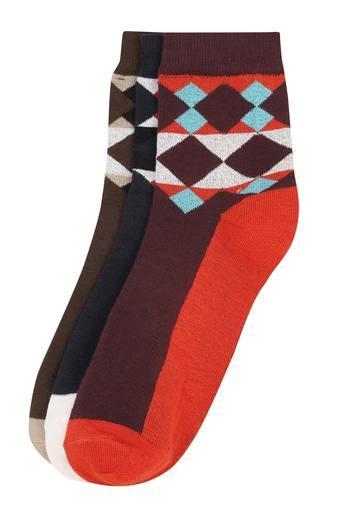 Mens Argyle Socks - Pack of 3