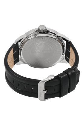 Mens Analogue-Digital Leather Watch - PL15238JS02