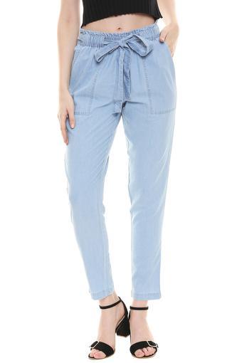 KRAUS -  Mid BlueTrousers & Pants - Main
