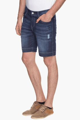 Mens 5 Pocket Stonewash Short