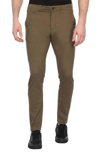 JACK AND JONES -  OliveCargos & Trousers - Main
