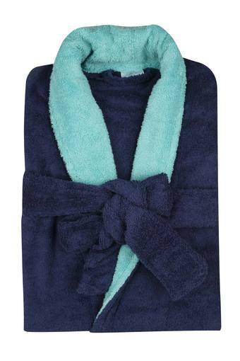 FERN -  Navy Bath Robes - Main
