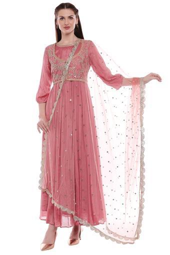 KASHISH -  WineSalwar & Churidar Suits - Main