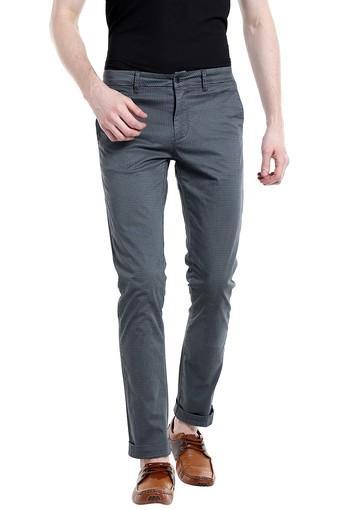 REX STRAUT JEANS -  Steel GreyCargos & Trousers - Main
