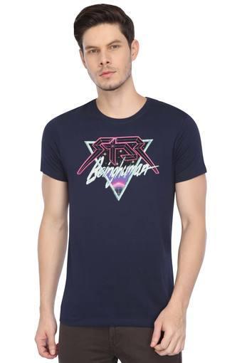 BEING HUMAN -  Blue Mix DarkT-shirts - Main