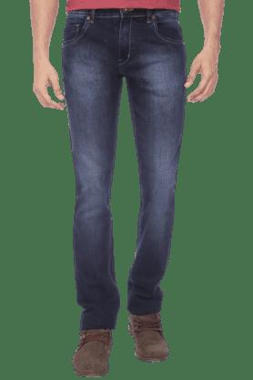 Mens Light Wash Stretch Jeans