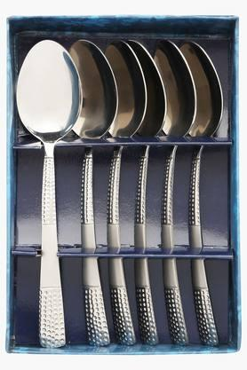 Zest Embossed Baby Spoon Set of 6