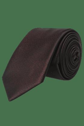 Mens Blended Solid Tie