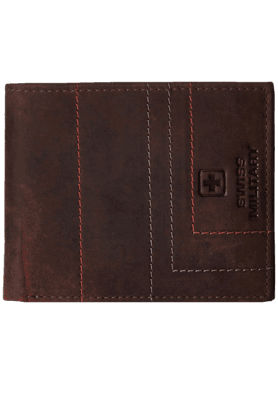 SWISS MILITARY Brown Men's Wallet (LW-8)