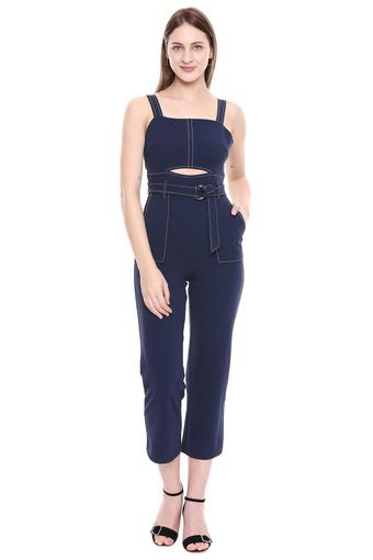 ONLY -  Blasted NavyPalazzos & Jumpsuits - Main