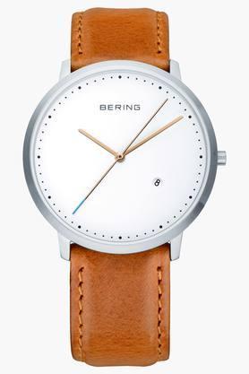 BERINGUnisex Classic White Round Analogue Watch 11139-504