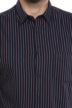 PARX - Dark BlueCasual Shirts - 4