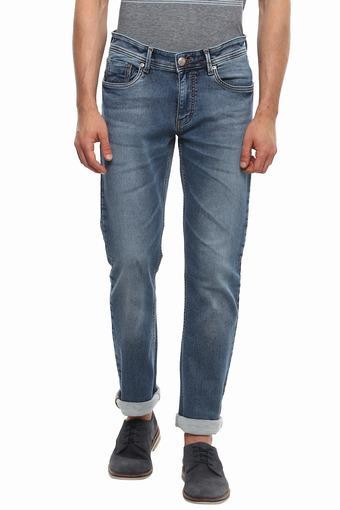 Mens Pocket Rinse Wash Jeans