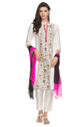 Womens Pants Kurta Dupatta Set