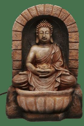 Fountain With Light - Buddha