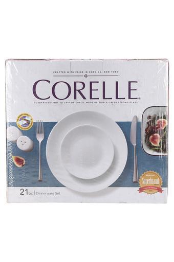 CORELLE -  WhiteDinner Sets - Main