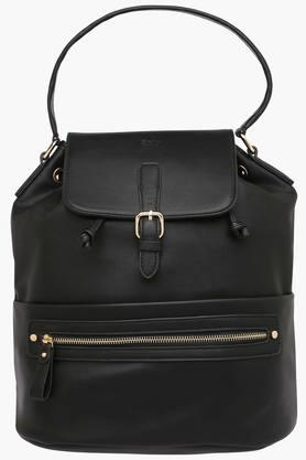 ALLEN SOLLY Womens Leather Handbag