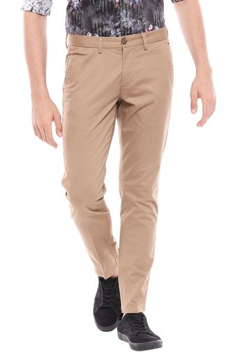 LOUIS PHILIPPE -  KhakiINDIAN TERRAIN Buy 1 and Get 50% Off on second product - Main