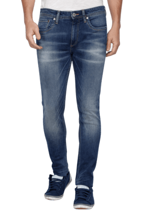 JACK AND JONES Mens 5 Pocket Stretch Jeans - 200763506