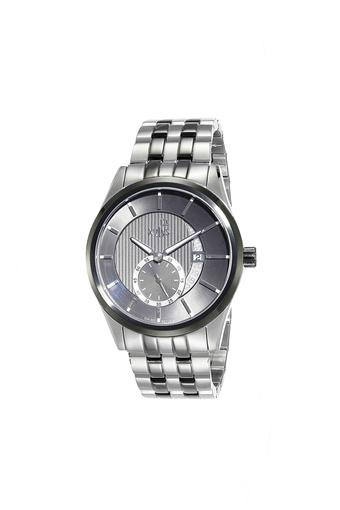 Mens Silver Dial Metallic Analogue Watch - 40024KM02E