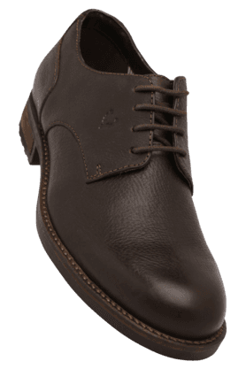 ALLEN SOLLY Mens Leather Lace Up Formal Shoe