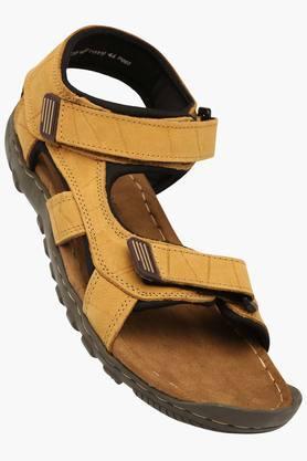 WOODLANDMens Casual Velcro Closure Sandals
