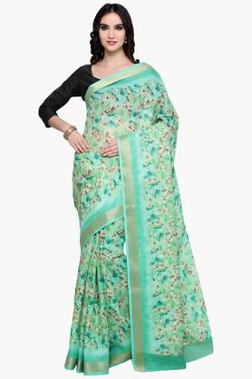 Womens Art Silk Saree With Blouse Piece - 202531420