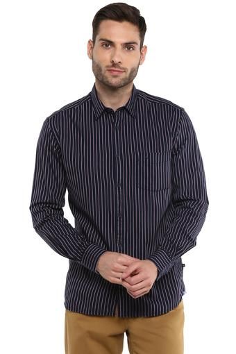 PARX -  Dark BlueCasual Shirts - Main