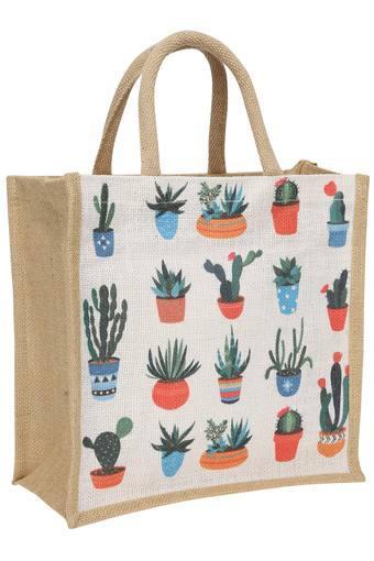 Succulent Print Lunch Bag