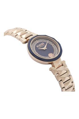 Womens Blue Dial Metallic Analogue Watch - VSPCD2717