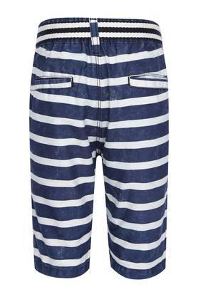Boys 4 Pocket Stripe Shorts