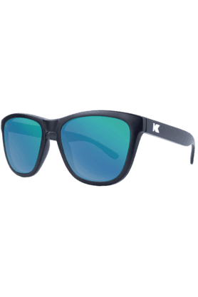 Premium Unisex Sunglassess Black/Green Moonshine-PMGM2001