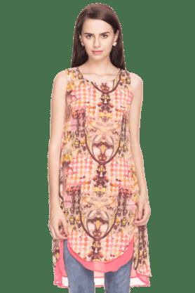 BIBAWomens Printed Sleeveless Kurta