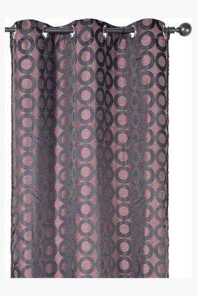 Printed 1 Piece Eyelet Curtain