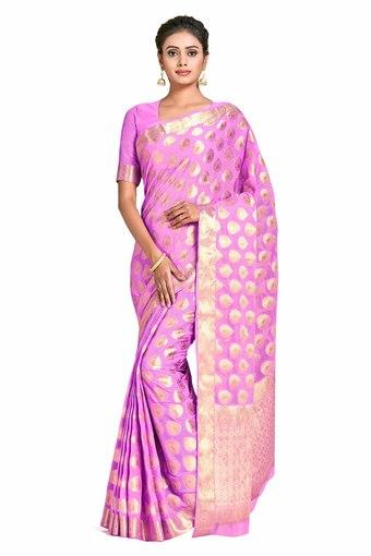 MIMOSA -  Pink Saree - Main