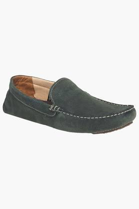RED TAPE Mens Leather Slip On Casual Loafers  ...