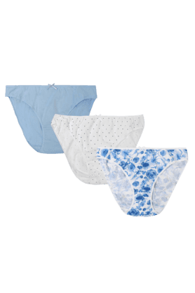 MOTHERCARE Women Printed Maternity Briefs -Pack Of 3