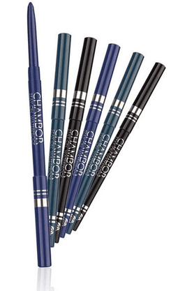 CHAMBOR Stay On Water Proof Eye Liner Pencil Black 001-301