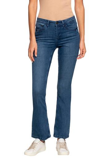 VERO MODA -  Blue Mix Dark Jeans & Leggings - Main