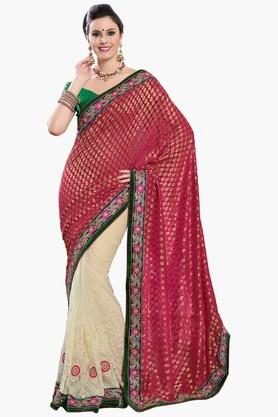 ASHIKA Women Royal Net Saree